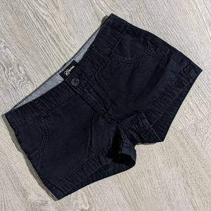 Guess Short Shorts Black Khaki Material